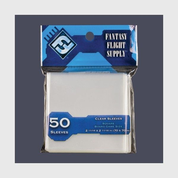 Card Sleeves Square Standard 50 (70x70mm)
