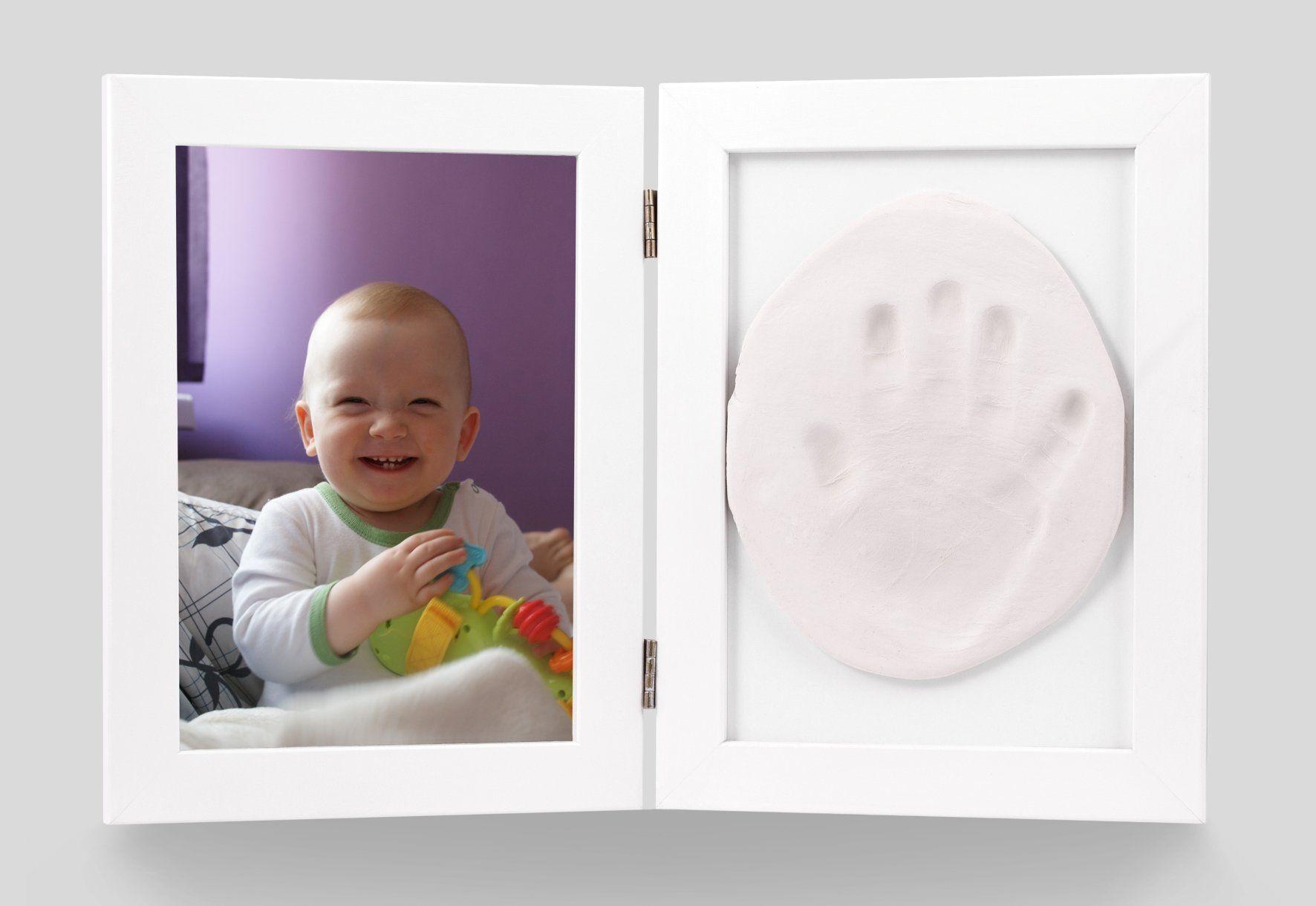 Ramka Baby HandPrint z gliną