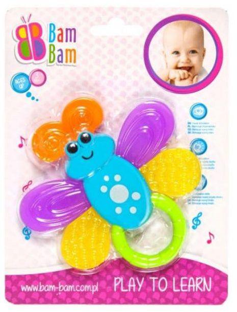 -BAM BAM GRZECHOTKA MOTYL 96/192 - 5902012788929