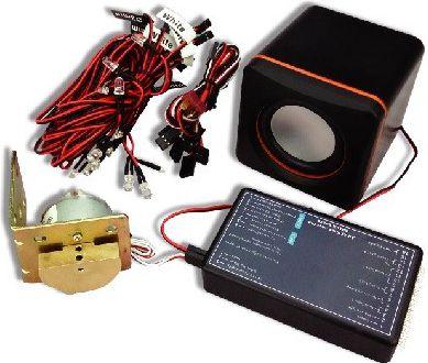 Zestaw oświetlenia i systemu dźwiękowego do samochodów RC (GPX/GT134)