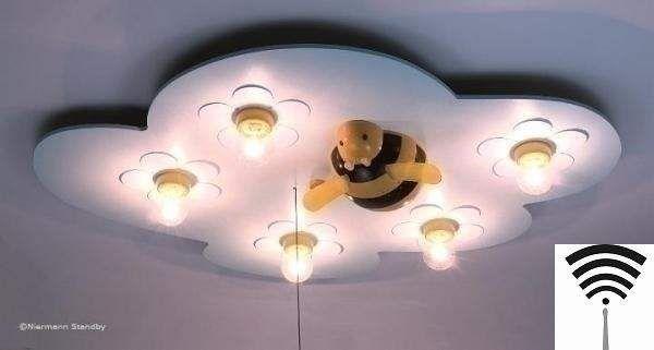 Lampa - plafon Pszczółka RC uniw