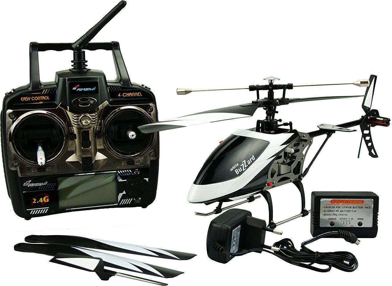 Helikopter RC z pilotem LCD (25137)