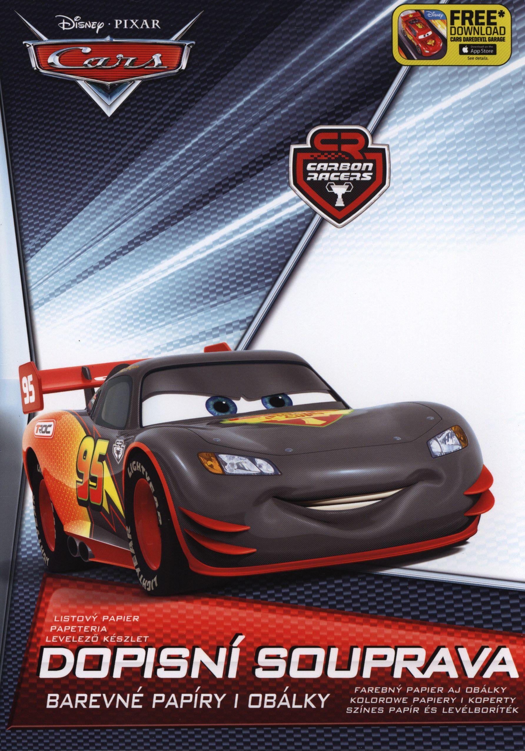 Papeteria Lux 5+10 Disney Cars 2