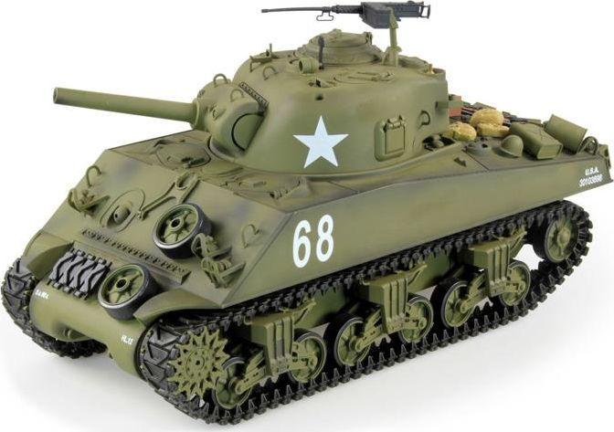 Czołg zdalnie sterowany Heng Long U.S. M4A3 Sherman 1:16