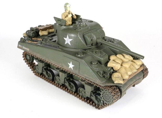 Czołg zdalnie sterowany Sherman M4A3 1:24 (2RC4006)