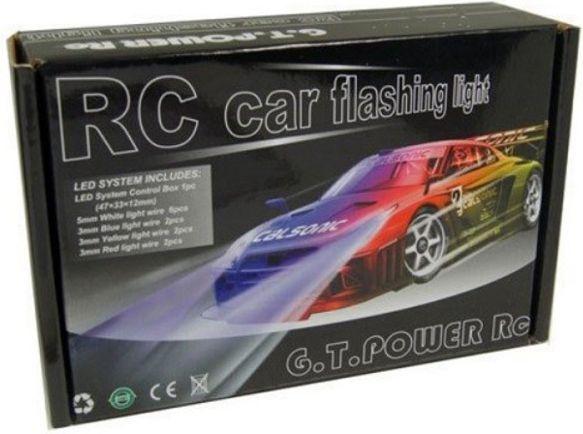 Błyskowy system oświetlenia samochodu RC (GPX/GT27)