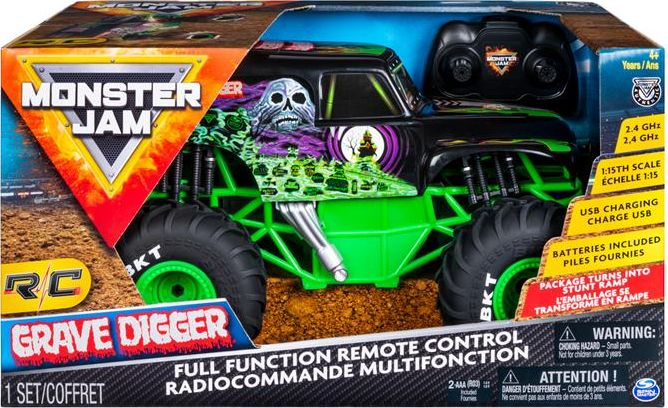 Auto RC Monster Jam 1:15 GRAVE DIGGER (6045003)