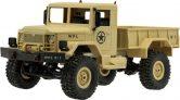 Zdalnie sterowany samochód RC wojskowy pustynny 1:16 – Samochody RC
